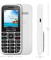 Alcatel OT 1040D Pure White